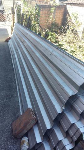 Telha zinco galvanizada
