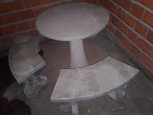 Bancos para jardim com pes em concreto vazlon brasil - Bancos de cemento ...