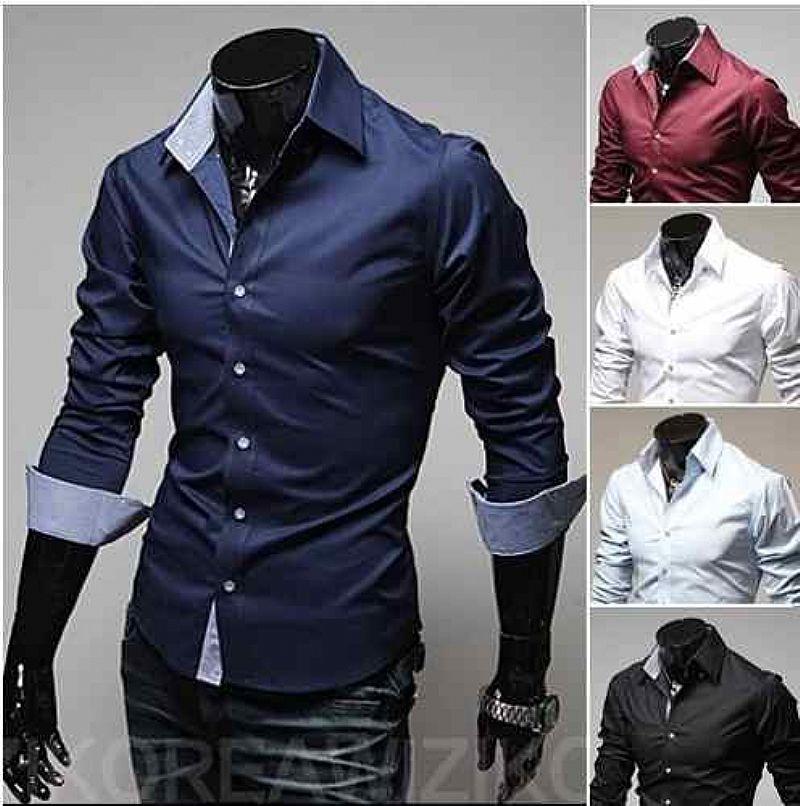 0d213c5ad5 camisa social estilo luxo importada varios tipos algodao   OFERTAS ...