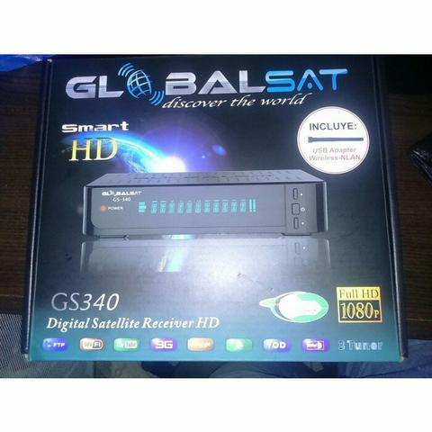 GS 340 hd com iptv e on demand