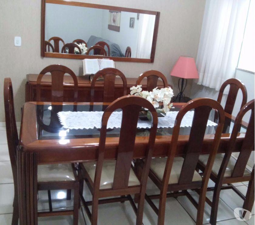 Jogo De Sala De Jantar Em Madeira ~ jogo sala de jantar jogo de mesa de jantar em mogno maciço com 8