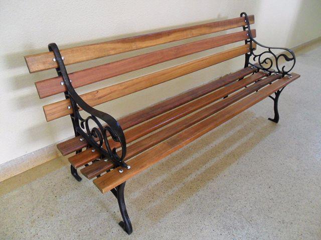 banco de jardim cavalo:banco de jardim rustico banco de jardim rustico de madeira e ferro