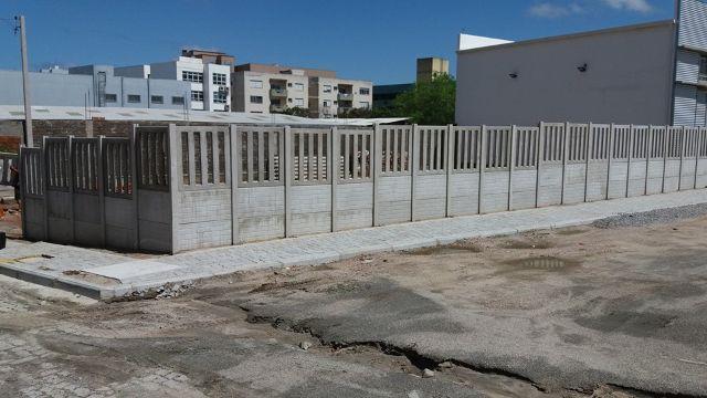 Muro pronto muro em concreto armado preco cr por m2 for Muro de concreto armado