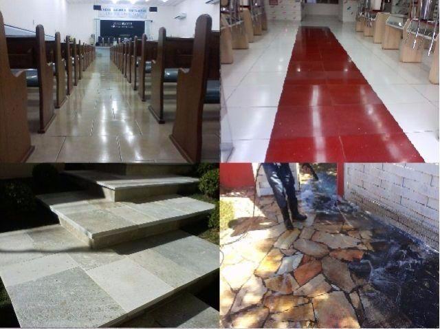pedras para jardim aki:limpeza e tratamento de pisos fazemos a limpeza e restauração de