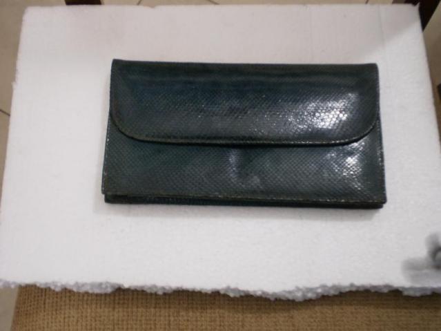 Bolsa De Couro Legitimo Azul : Carteira de couro legitimo pidengbao com borda r vazlon
