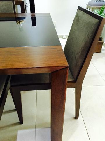 Mesa com cadeiras de alto padrao vazlon brasil for Comedor alto