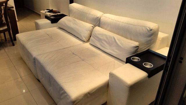 sofa 2 lugares retratil plenitude   Vazlon Brasil