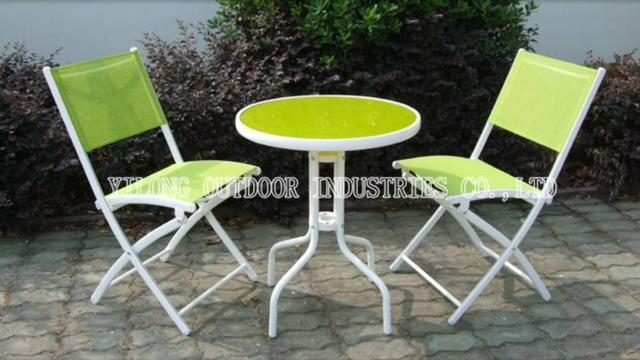 mesa jardim leroy merlin:mesa de aluminio cadeira de aluminio conjunto