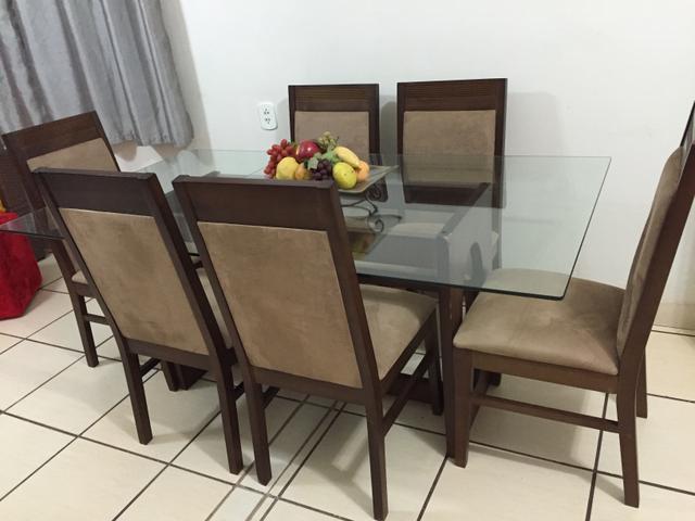 Artesanato Em Feltro ~ mesa e aparador sala de jantar Vazlon Brasil