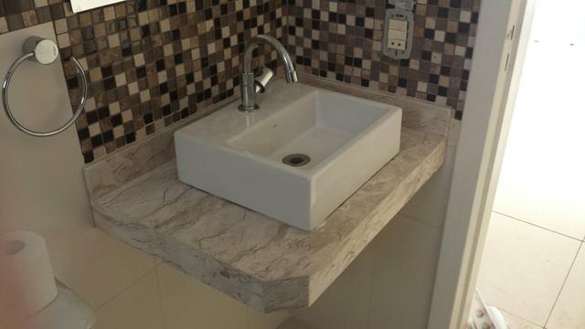 pia de banheiro de marmore travertino r  Vazlon Brasil -> Cuba Pia Banheiro Deca
