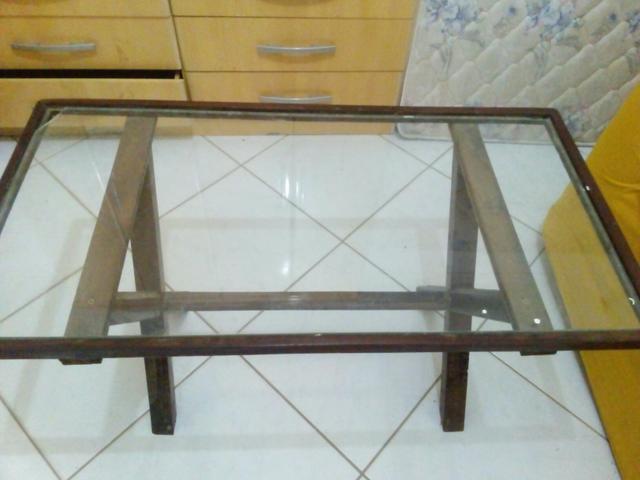 Aparador Vidro ~ mesa de canto rusticos e artesanal Vazlon Brasil