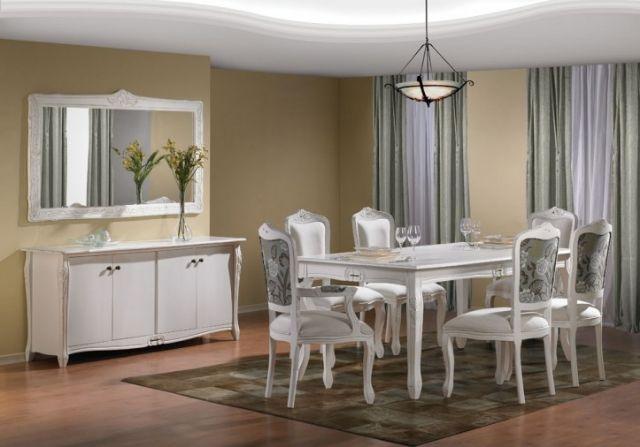 Conjunto De Sala De Jantar Luis Xv ~ sala de jantar estilo luís xv acabamento em provençal mesa de jantar