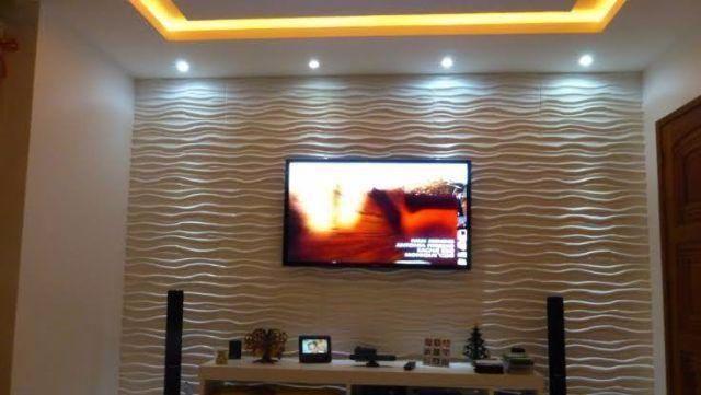 Placa 3d board revestimento de parede vazlon brasil - Placas decorativas pared ...