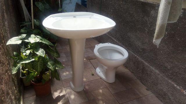 vaso pia de banheiro e de cozinha  Vazlon Brasil -> Conjunto De Banheiro Vaso E Pia