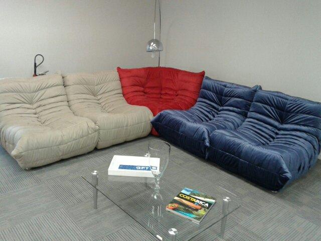 Sofa togo canto ligne roset original vazlon brasil for Sofa 1 lugar com chaise