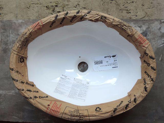 cuba de embutir celite oval x pergamon  Vazlon Brasil # Cuba Para Banheiro Deca Oval