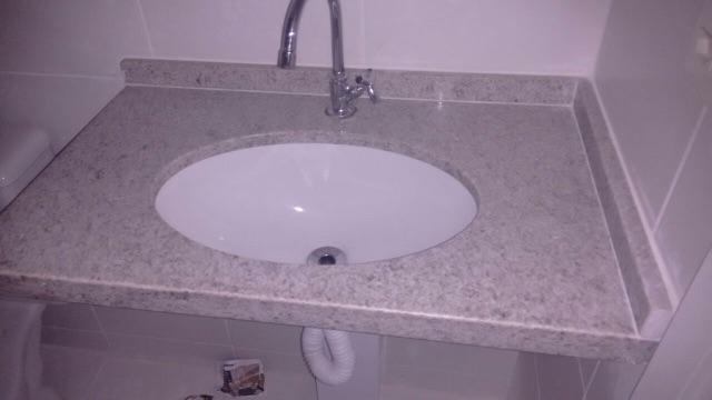 pia para banheiro com cuba e torneira  Vazlon Brasil -> Pia Banheiro Sifao