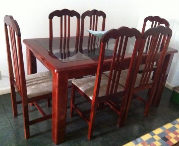 Jogo De Sala De Jantar Em Madeira ~ jogo de sala de jantar jogo de sala de jantar de madeira maciça