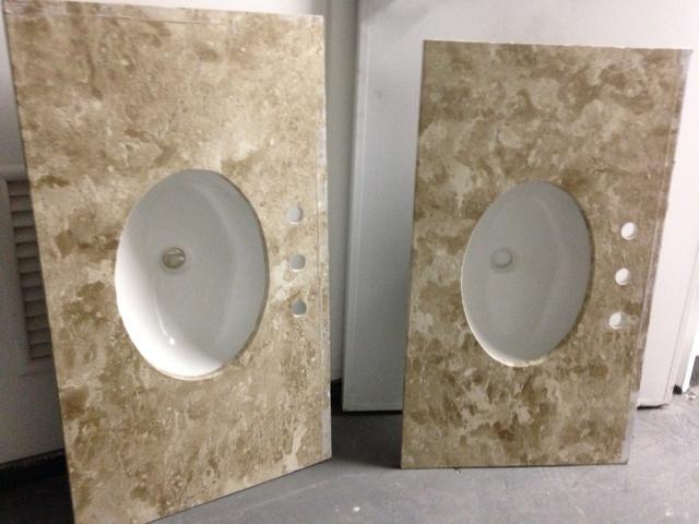 pia de banheiro de marmore travertino r  Vazlon Brasil -> Pia De Banheiro Travertino