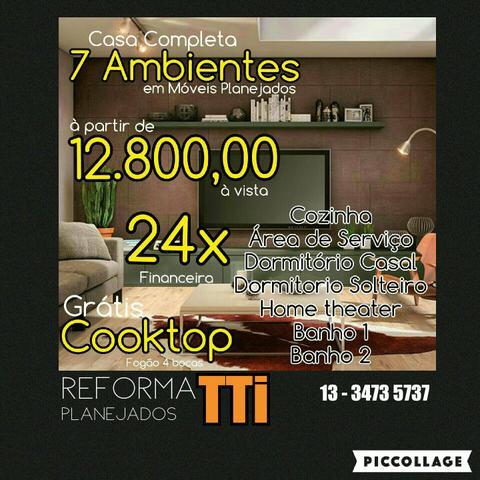 Casa completa moveis planejados vazlon brasil for Amueblar casa completa