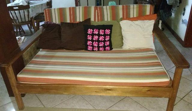 Sofa estilo colonial rustico de madeira macica vazlon brasil - Sofas estilo colonial ...