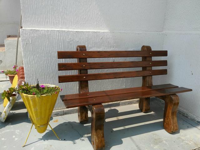 banco de jardim cavalo:banco de jardim banco de jardim pintado verniz brinde vaso anúncios