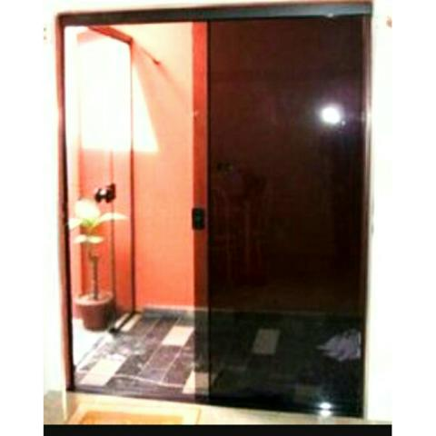 Porta De Vidro Blindex De Correr Com 4 Ou 2 Folhas