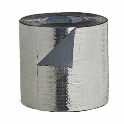 Fita asfaltica auto adesiva aluminizada