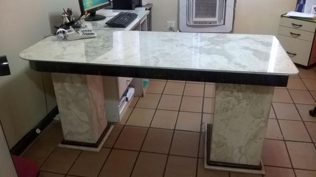 Mesa de granito para escritorio consultorio vazlon brasil - Mesa de granito ...