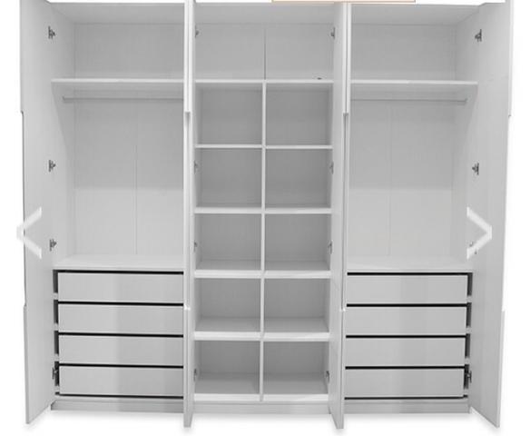 armario com gavetas bau e bicama etna para quarto  Vazlon Brasil -> Armario De Banheiro Etna