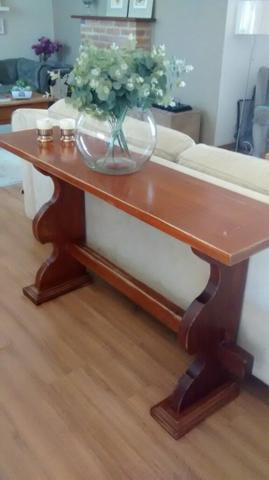 Mesa madeira macica estilo colonial vazlon brasil for Mesas estilo colonial