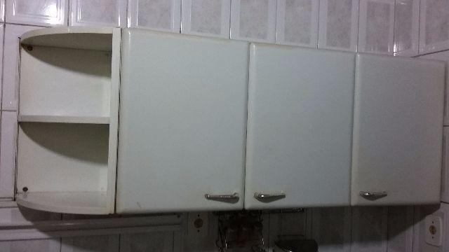 Armario cozinha 9 portas bancada e cantoneira r vazlon - Armario de pared ...