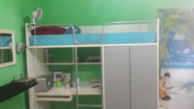 Aparador Estreito E Pequeno ~ cama tipo beliche com escrivaninha e armario tok stock Vazlon Brasil