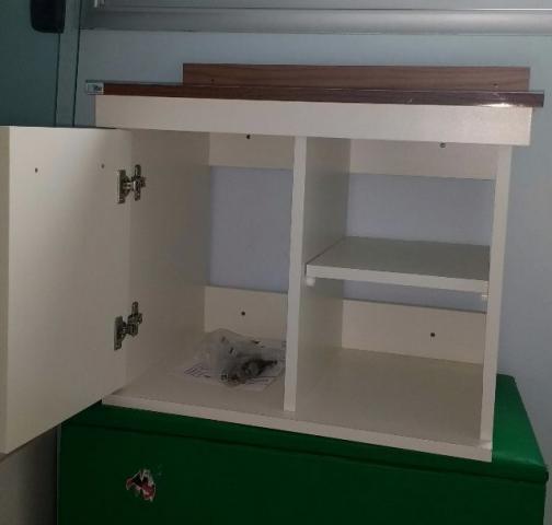 gabinete montado barato  Vazlon Brasil # Gabinete De Banheiro Bonatto