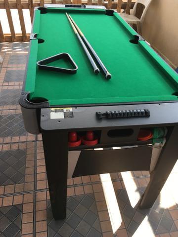 Super mesa 3x1 sinuca aero hockey e ping pong vazlon brasil - Mesa de hockey de aire ...