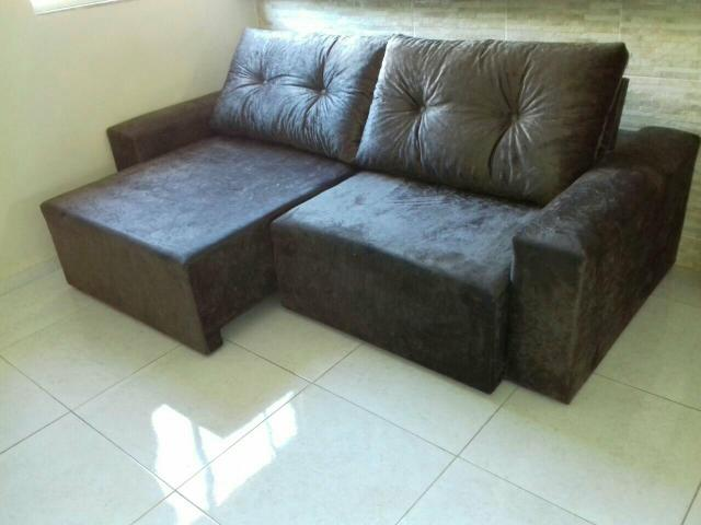 Sofa retratil e reclinavel direto da fabrica vazlon brasil for Sofa fabrica