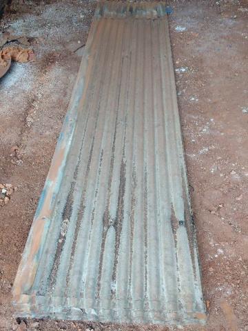 Telha de zinco usadas