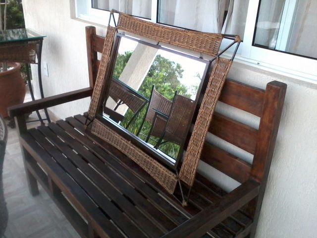 Armario Leroy Merlin ~ urgente espelho e aparador em ferro lindos Vazlon Brasil