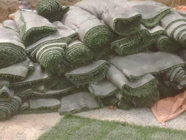 grama sintetica para jardim em curitiba:grama sintética grama sintética usada porém em ótimo estado m2