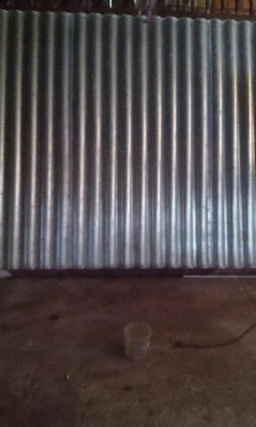 Portao de chapa galvanizada vazlon brasil for Chapa ondulada galvanizada