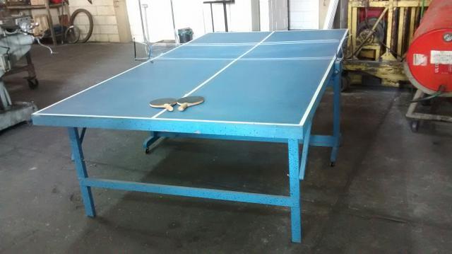 Mesa de ping pong medidas oficiais vazlon brasil for Mesa de ping pong usada