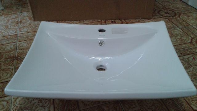 uma cuba de apoio para banheiro eternit mileto  Vazlon Brasil -> Cuba De Apoio Para Banheiro Eternit Mileto