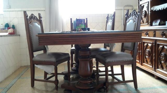 Jogo Sala De Jantar Completo ~ sala de jantar de 6 lugares mesa de jantar em madeira maciça com