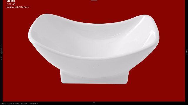 cuba de apoio retangular  Vazlon Brasil -> Cuba Para Banheiro De Apoio Thema Branca Incepa