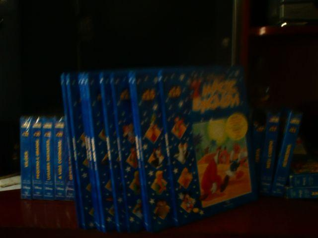 DDisney magic english (livros e vhs)