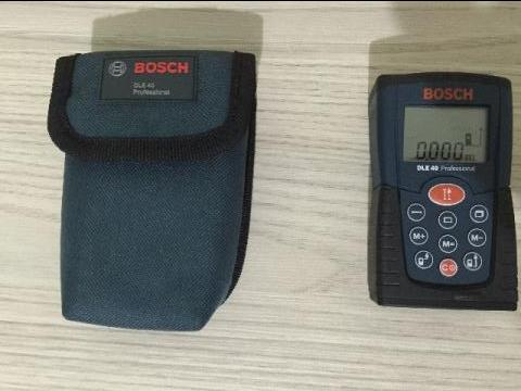 bosch dle 40 professional manual