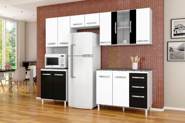 armario de cozinha usado branco  Vazlon Brasil # Armario De Cozinha Julia
