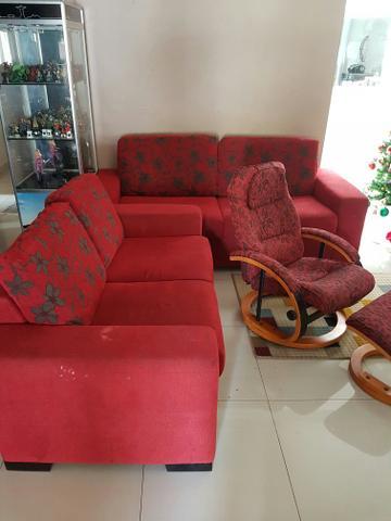 Conjunto de duas cadeira de descanso de madeira vazlon - Sofas de descanso ...