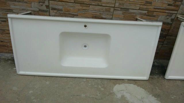 pia para lavatorio de banheiro em fibra reforcada  Vazlon Brasil -> Pia Para Banheiro Branca