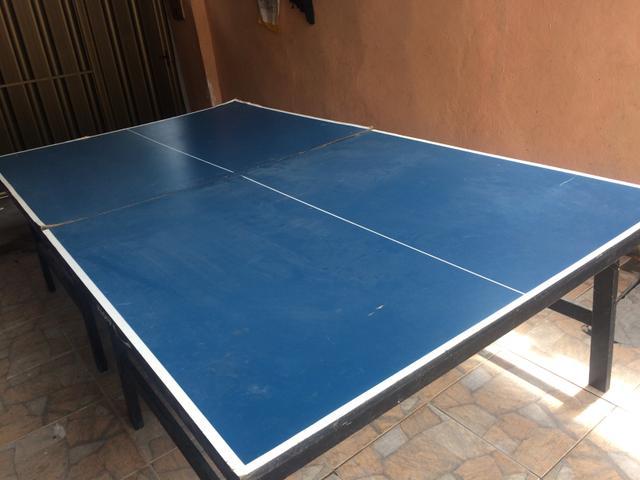 Mesa de ping pong original vazlon brasil for Mesa de ping pong usada